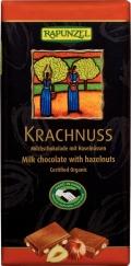 Krachnuss Milchschokolade mit Haselnüsse